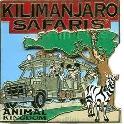 Kilimanjaro Safaris Expedition Mickey Minnie and Goofy WDW 2008 Disney