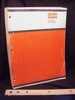 1969 Case 770 Agri King Tractor Parts Manual Book Orig