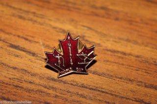 Ski Pin Badge Skiing Kimberley World Cup B C Canada