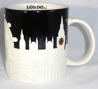 City Relief Collection Coffee Mug London England United Kingdom