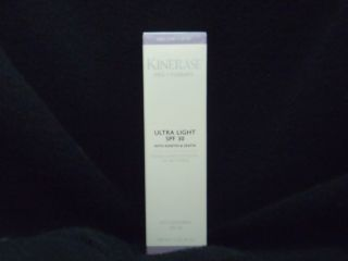 Kinerase Pro Therapy Ultra Light SPF 30 with Kinetin and Zeatin