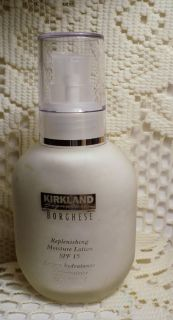 Kirkland Signature Borghese Replenishing Moisture Lotion SPF 15 New
