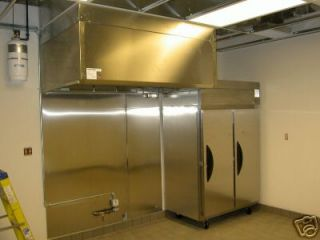 Commercial Kitchen Exhaust Hood Fans 12 Ft