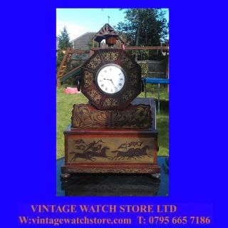 King William IV Mahogany Brass Inlaid London Verge Bracket Clock 1810