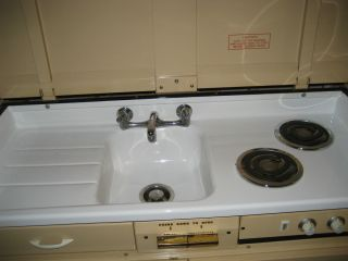 ... Dwyer Kitchen Stove Refrigerator And Sink Cabinet Unit ...