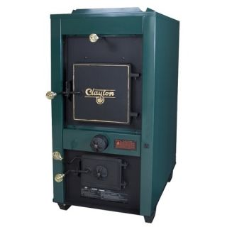 US Stove Clayton Wood Coal Furnace with Draft Kit 1802G
