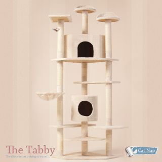 Cat Tree 80 Condo Furniture Scratching Post Pet Cat Kitten House High