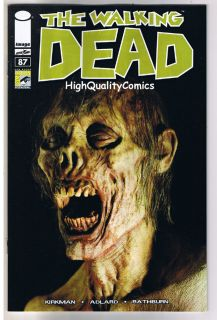 WALKING DEAD 87 NM Robert Kirkman SDCC Comic Variant Zombies 2003
