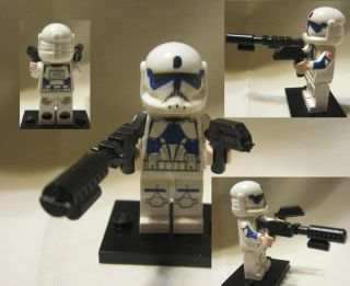 Lego Custom Star Wars Commando Kix with 2 Combat Star Wars Weapons