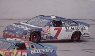 NASCAR Decal 7 Klaussner Phillips 1999 Monte Carlo Micheal Waltrip
