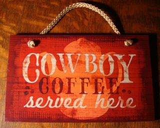 Home Decorating on Served Here Sign Country Primitive Ranch Farm Kitchen Home Decor
