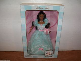 NIB 1998 Collectors Edition Birthday Wishes AA Barbie Doll Second in a
