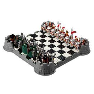 Lego Knights Kingdom Chess Set 853373 Ships Worldwide