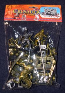 BMC 28 Crusaders Castle Bagged Toy Soldiers Set