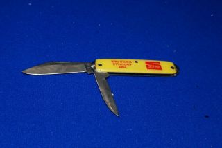Coca Cola Knoxville 1982 Worlds Fair 2 Blade Folding Knife