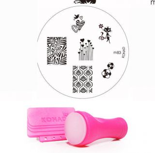 Konad Nail Art New Stamper Scraper II Image M83