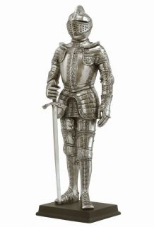 Medieval Knight Statue Sculpture Men of Honor