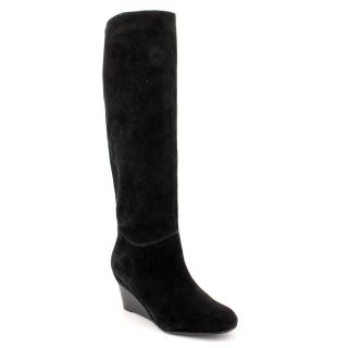 KORS Michael Kors Townsend Wedge Boot Womens Size 10 Black Regular