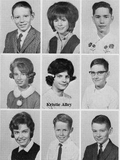 1960s School Yearbook Kristie Alley Star Trek II Cheers Look Whos
