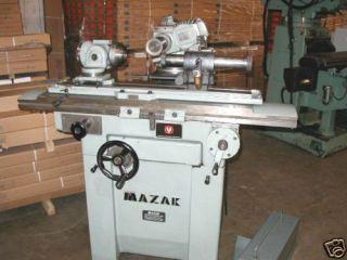Mazak Model MH 1 Universal Tool Cutter Grinder