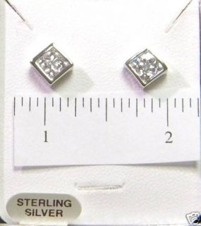 Colibri Krementz Sterling Silver Earrings