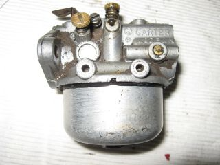 Cub Cadet Kohler Carter Model N 20 Carburetor Model 71 K161S 7HP