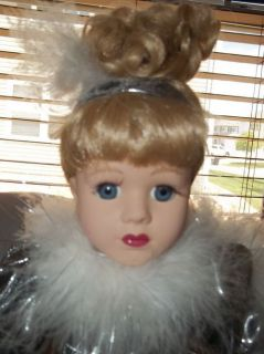 Victoria Rose Collection 1997 Porcelain Doll