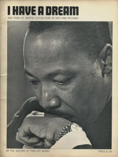 1968 Time Life Photo Book I Have A Dream Martin Luther King