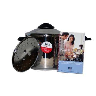 Kuhn Rikon 3918 7 Quart Duromatic Pot Pressure Cooker Stainless Steel