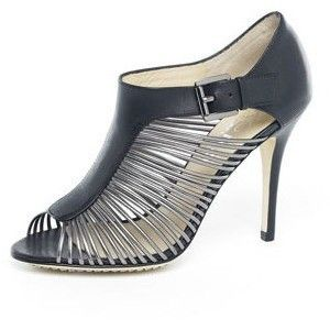 New in Box   $265.00 Kors MICHAEL KORS Ramsey Gunmetal Leather Sandals