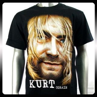Nirvana Kurt Cobain Rock Music Alternative T Shirt Sz M NI7