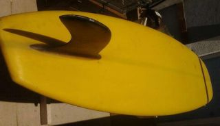 Vintage shaw la mesa san diego 9ft 7in aysmetrical tail SURFBOARD