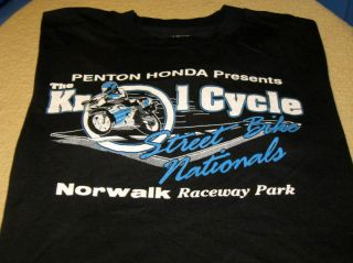 The Krol Cycle Street Bike Nationals 1980s Norwalk Ohio Raceway Park T