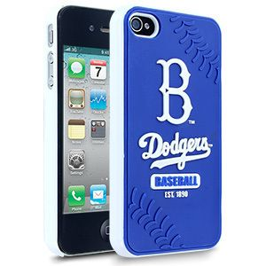 iPhone 4 4s LOS ANGELES L.A. DODGERS Faceplate Protective Hard Case