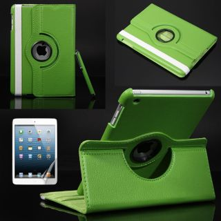 For iPad Mini 360° Rotating Magnetic PU Leather Smart Case Cover w