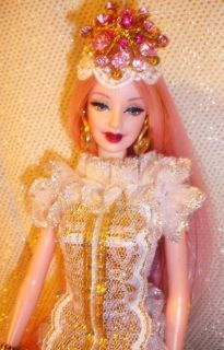 Unicorn Princess Beauty Barbie Doll OOAK Fantasy Pink Violet Hair