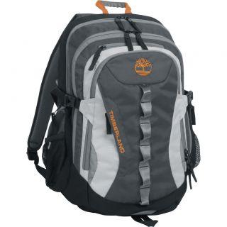 Timberland Lacona 18 Backpack Grey Burnt Orange $100 Value New