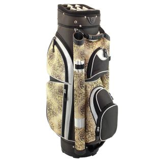 Hunter Nusport Eclipse Ladies Cart Golf Bag Brown Yellow Floral