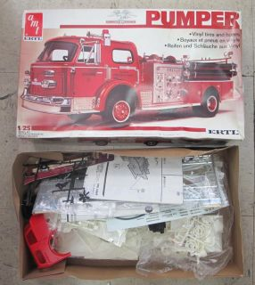 American La France Pumper Fire Truck 1 25 Scale by AMT Ertl Model Kit