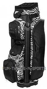 Ladies Boutique Golf Bag Cart Bag New Zebra