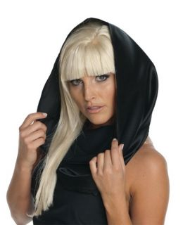 Officially Licensed Lady Gaga Black Costume Scarf New