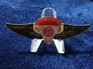 Iraqi Army Airborne Special Forces Parachute Jump Chest Wing Badge