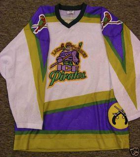 Authentic Lake Charles Ice Pirates Hockey Jersey XXL