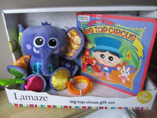 Lamaze Big Top Circus Gift Set New Stroller Seat Car Toddler Baby