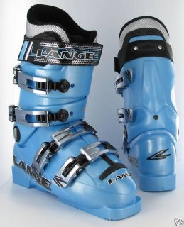 Lange World Cup 80 Team Crazy Blue 06 07 Ski Boots 6 5