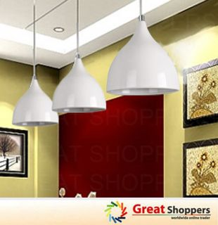 New Modern Black White Tulip Lamp Shade Ceiling Light Pendant Lamp