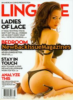 American Curves 12 08 Lana Tailor Lingerie Dec 2008 New
