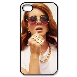 New Design Lana Del Rey Fans Black iPhone 4 4S Hard Case