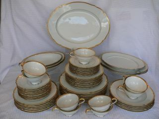 of Hutschenreuther Selb China Lanark Pattern Bavaria Germany