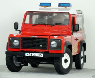 18 UH Land Rover Defender 90 TD5 French Fire Engine Sapeurs Pompier